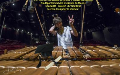 Obtention du D.E.M. – Musiques du Monde